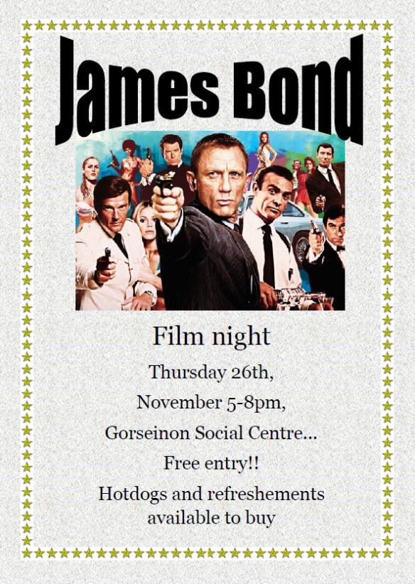 T2M JAMES BOND FILM NIGHT NOV 15 (1)