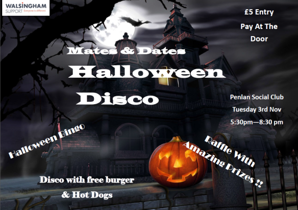 WALSINGHAM - MATES AND DATES HALLOWEEN 2015